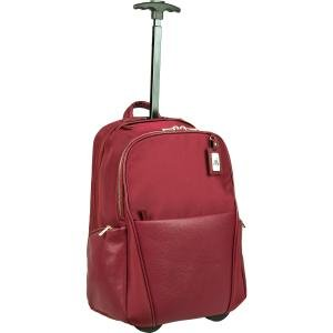 WIB Portofino Ladies Roller Backpack - Burgundy PORTRBP-02