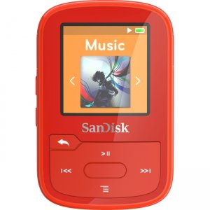 SanDisk Clip Sport Plus 16GB Flash MP3 Player SDMX28-016G-A46R