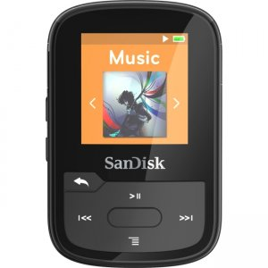 SanDisk Clip Sport Plus 16GB Flash MP3 Player SDMX28-016GA-46K