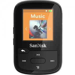 SanDisk Clip Sport Plus 16GB Flash MP3 Player SDMX28-016G-A46B