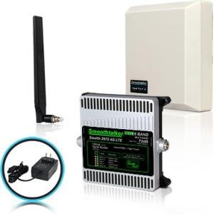 Smoothtalker Stealth Z672dB 4G LTE High Power 6 Band Cellular Signal Booster Kit BBUZ672GBP