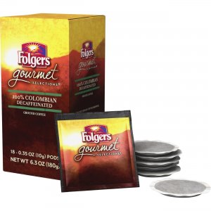 Folgers Gourmet Selections Colombian Decaf Coffee 63101CT FOL63101CT