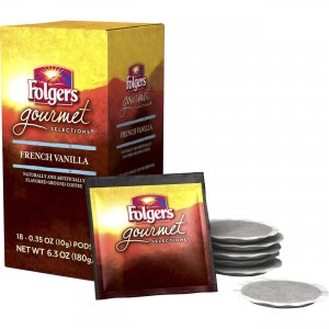 Folgers Gourmet Selections French Vanilla Coffee 63102BX FOL63102BX