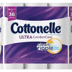 Kimberly-Clark Cottonelle Ultra Comfort Bath Tissue 45258 KCC45258