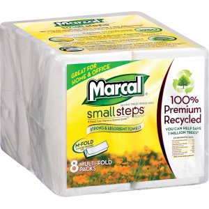 Marcal Small Steps Multi-Fold Towels 0672902 MRC0672902