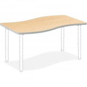 HON Build Series Ribbon Shape Tabletop SW3054ENDK HONSW3054ENDK SN3054E
