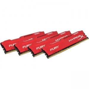 Kingston HyperX Fury 64GB DDR4 SDRAM Memory Module HX424C15FRK4/64