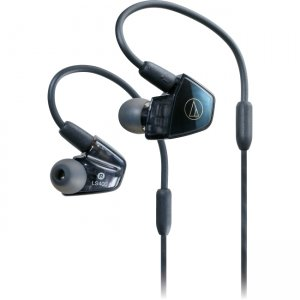 Audio-Technica In-Ear Quad Armature Driver Headphones with In-line Mic & Control ATH-LS400IS
