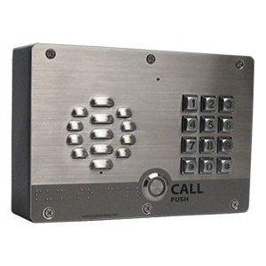 CyberData SIP-enabled H.264 Video Outdoor Intercom with Keypad 011414