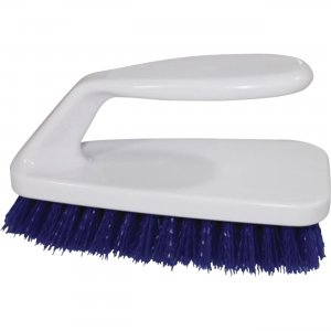 Genuine Joe Iron Handle Scrub Brush 99658 GJO99658