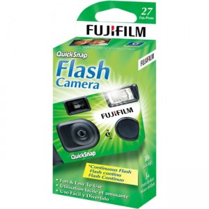 Fujifilm One Time Use 35mm Camera with Flash 7033661 QUICKSNAP-FLASH400