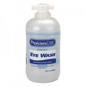 First Aid Only Eyewash, 16 oz Bottle, 12/Carton FAO90546 90546
