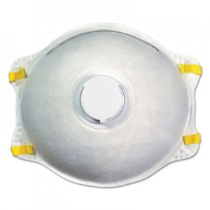 Boardwalk N95 Disposable Respirator With Valve, 10/Carton BWK00019