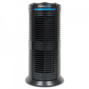 Therapure HEPA-Type Air Purifier, 70 sq ft Room Capacity, Three Speeds, Black ION90TP220TBK1W 90TP220TBK1W
