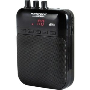 Monoprice 5-Watt Guitar Amplifier, Portable Recorder, and USB Audio Interface 611700