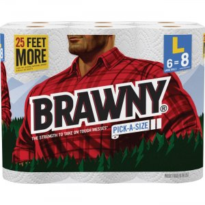 Brawny Industrial Pick-A-Size Paper Towels 44080 GPC44080