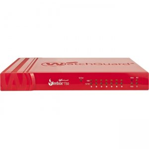 WatchGuard Firebox Network Security/Firewall Appliance WGT50003-US T50