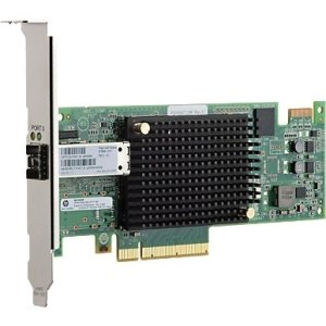 HP 16Gb 1-port PCIe Fibre Channel Host Bus Adapter QR558A SN1000E