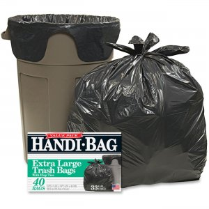 Webster Handi Bag Wastebasket Bags HAB6FTL40 WBIHAB6FTL40