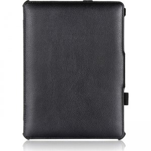 Amzer Shell Portfolio Case - Black Leather Texture for Samsung GALAXY Tab S 10.5 97198