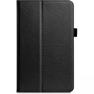 Amzer Shell Portfolio Case - Black Leather Texture 98764