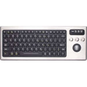iKey Keyboard with Integrated Trackball DBL-810-TB-USB DBL-810-TB
