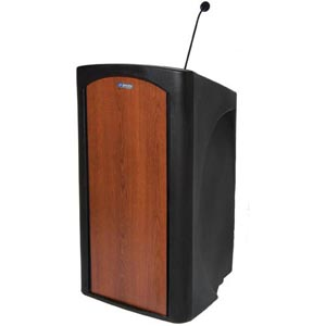 AmpliVox Pinnacle Full Height Non-amplified Lectern ST3250-SC ST3250