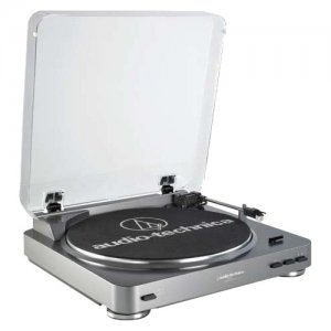 Audio-Technica Fully Automatic Stereo Turntable System AT-LP60bk AT-LP60