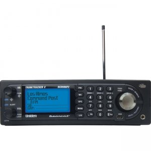 Uniden Digital Mobile TrunkTracker V Scanner BCD996P2