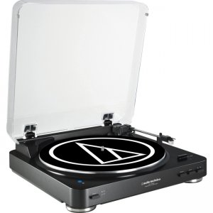 Audio-Technica Fully Automatic Wireless Belt-Drive Stereo Turntable AT-LP60BK-BT AT-LP60-BT