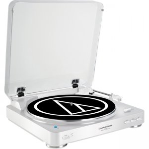 Audio-Technica Fully Automatic Wireless Belt-Drive Stereo Turntable AT-LP60WH-BT AT-LP60-BT