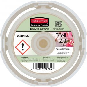 Rubbermaid Commercial TCell System Fragrance Refill 1957521 RCP1957521
