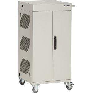 Black Box Basic Charging Cart - 36 Device, Hinged Door, Key Lock VLC36SK-HD-R2