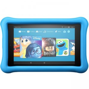 "Amazon All-New Fire 8 Kids Edition Tablet, 8"" Display, 32 GB, Blue Kid-Proof Case B01J94SBEY HD"