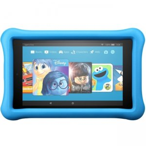 "Amazon All-New Fire 7 Kids Edition Tablet, 7"" Display, 16 GB, Blue Kid-Proof Case B01J90MSDS"