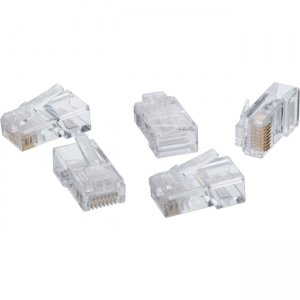 4XEM 1000PK Cat5e RJ45 Ethernet Plugs/Connectors 4X1000PKC5E