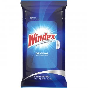 Windex Original Glass/Surface Wipes 642513 SJN642513