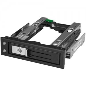 "StarTech.com 5.25 to 3.5 Hard Drive Hot Swap Bay - For 3.5"" SATA/SAS Drives - Trayless HSB13SATSASB"