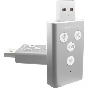Sabrent USB Audio Sound Adapter AU-DDAS-PK100 AU-DDAS