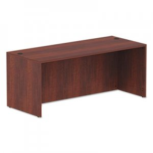 Alera Valencia Series Straight Front Desk Shell, 71 x 29 1/2 x 29 1/2, Medium Cherry ALEVA217230MC