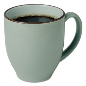Office Settings Bistro Mugs, 15 oz, Sea Foam Green, Ceramic OSISPBMGR6 SPBMGR6
