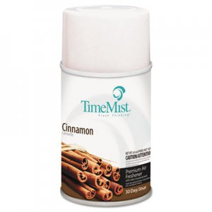 TimeMist Metered Aerosol Fragrance Dispenser Refills, Cinnamon, 6.6oz, 12/Carton TMS1042746