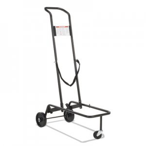 Virco Stacking Chair Truck Cart, 10 Virco-Chair Capacity, 39-7/8 x 21 x 60-3/4, Black VIRHCT789