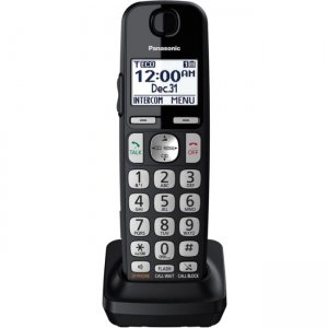 Panasonic DECT 6.0 Additional Digital Cordless Handset for KX-TGE433B & KX-TGE445B KX-TGEA40B1
