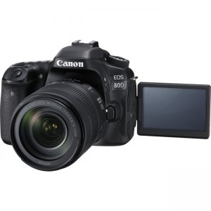 Canon EOS Digital SLR Camera With Lens 1263C006 80D