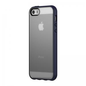 Pop Case for iPhone SE - Clear/Midnight Blue INPH16090-MBL INPH16090-MBL