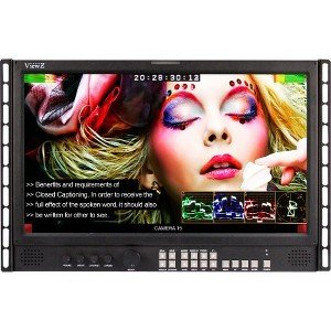 "ViewZ 18.5"" Video Production Rack Mount 3G-SDI Monitor VZ-185RM-P"