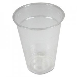 Boardwalk Clear Plastic Cold Cups, 9 oz, PET, 1000/Carton BWKPET9 PET9