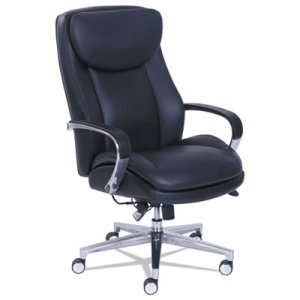 La-Z-Boy Commercial 2000 High-Back Executive Chair with Dynamic Lumbar Support, Black LZB48957 48957