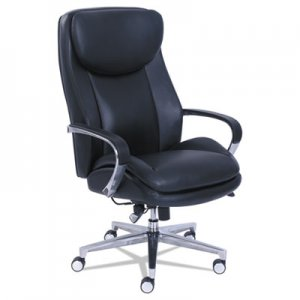 La-Z-Boy Commercial 2000 Big and Tall Executive Chair with Dynamic Lumbar Support, Black LZB48956 48956